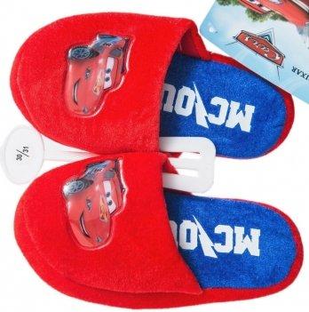 Тапочки-шлепанцы Disney Тачки красные/синие