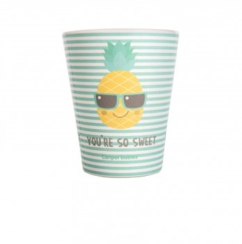 Бамбуковая чашка Canpol babies SO COOL Бирюзовый 9/212 220 мл