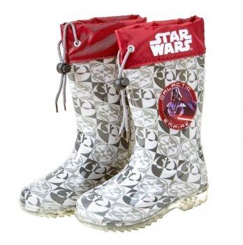Сапоги резиновые Disney Звездные войны (Star Wars), серые