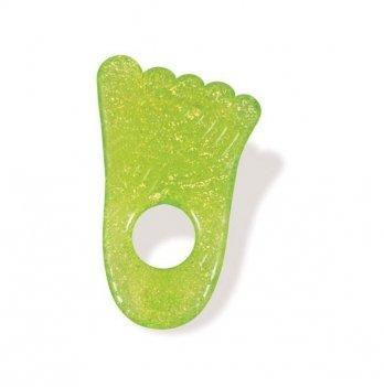 Игрушка-прорезыватель Munchkin Fun Ice Chewy Teether, Ножка зеленая