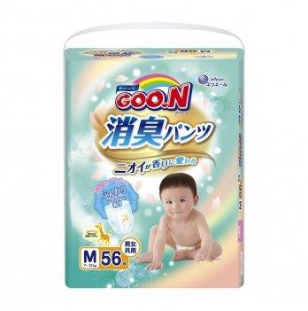 Трусики-подгузники GOO.N Aromagic Deo Pants 853110 для детей (размер M, 7-12 кг) 56 шт