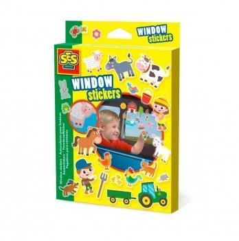 Набор наклеек на окна - Веселая ферма Ses 14271S