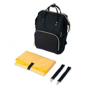 Рюкзак для коляски Canpol babies Lady Mum Черный 50/102