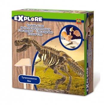 Набор серии Исследователь -Раскопки скелета тираннозавра Ses 25028S