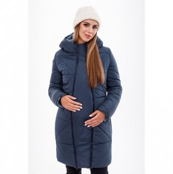 Зимняя куртка для беременных MySecret Angie Синий OW-49.031