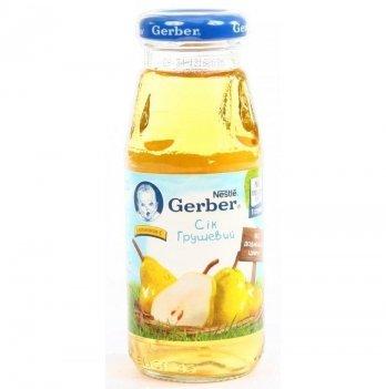 Сок Nestle Gerber грушевый 175 г