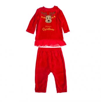 Новогодний костюм для девочки Модный карапуз, красный