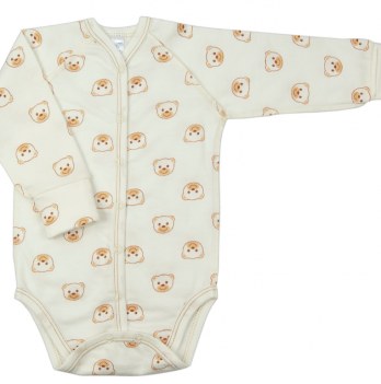 Боди Baby Bear beige Veres футер