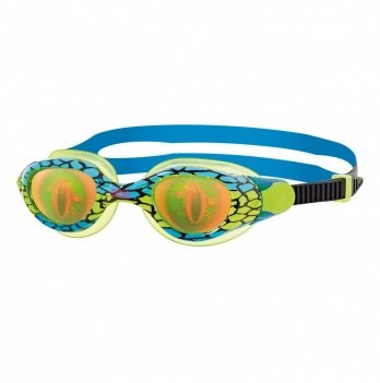 Очки для плавания Zoggs Sea Demon Junior, возраст 6 - 14 лет, голубые