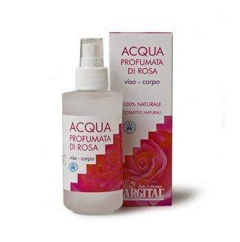 Ароматическая тонизирующая вода для лица и тела Роза, 125мл, Argital