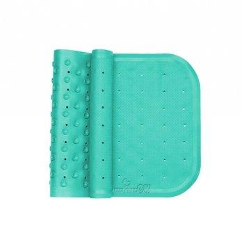 Антискользящий коврик в ванную XL Kinderenok Бирюзовый 071113_005 76х34,5 см