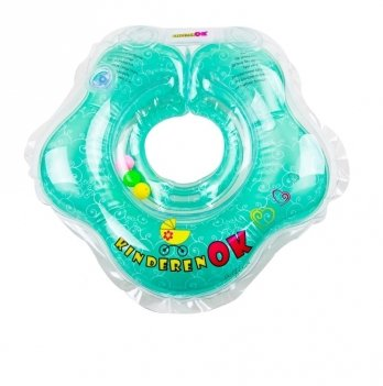 Круг для купания Kinderenok Floral Aqua Бирюзовый 111601_014