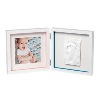Двойная рамка с полосками Baby Art 3601095100 белый