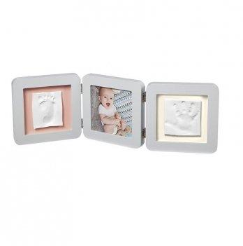 Тройная рамка с многоцветными подложками Baby Art 3601095300 пастельный