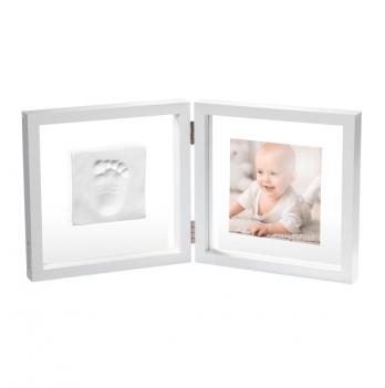 Двойная рамка с отпечатком Baby Art 3601095800 прозрачный