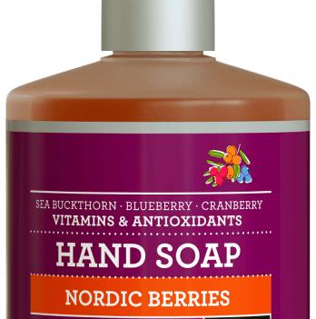 Органическое жидкое мыло Urtekram Скандинавские ягоды, 380 мл