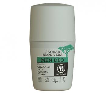 Органический мужской крем-дезодорант для пап Urtekram, 50 мл