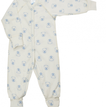 Комбинезон Baby Bear blue Veres футер