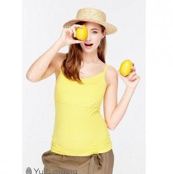 Майка трикотажная для беременных и кормящих мам MySecret May NR-29.051 желтый