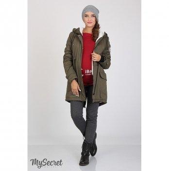 Куртка для беременных MySecret Inira Хаки OW-36.043