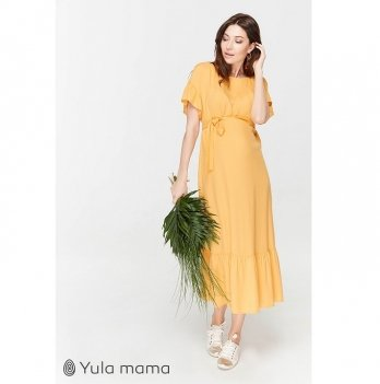 Платье для беременных и кормящих мам MySecret Zanzibar DR-29.082 желтый