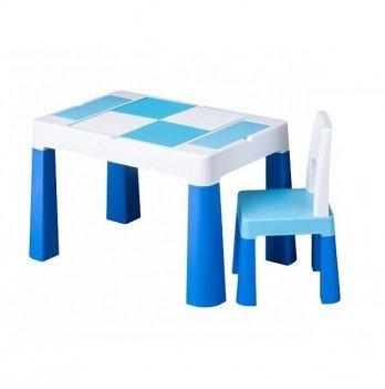 Детский стол и стул Tega baby Multifan Синий MF-001-120