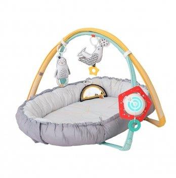 Развивающий музыкальный кокон Полярное сияние 4 в 1 - Уютное гнездышко Taf Toys 12235