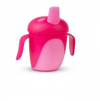 Чашка непроливайка Canpol babies Тропические птицы Розовый 76/001 240 мл