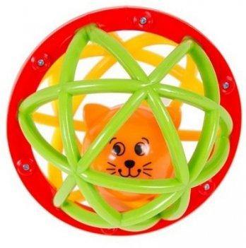 Погремушка-шарик Шустрый котёнок, Kiddieland - preschool