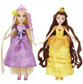 Кукла Hasbro Disney Princess, Базовая кукла Принцесса с длинными волосами и аксессуарами в ассортименте