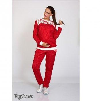 Спортивные штаны для беременных MySecret Noks Бордовый SP-47.071