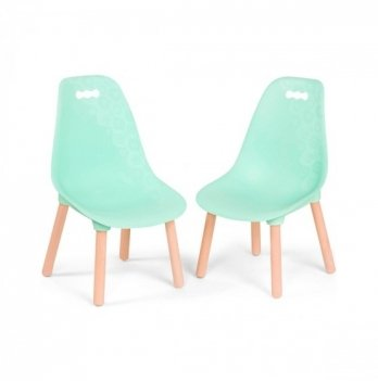 Набор детских стульчиков Battat Мятные коллекции Kid century modern BX1634Z