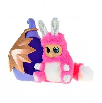 Мягкая игрушка Bush Baby World Мэдди, с домиком, из серии Блестящие
