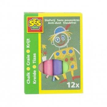 Набор цветных мелков Ses 0201S Малыш