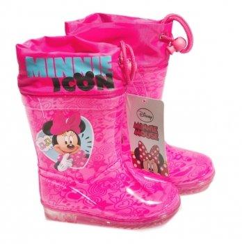 Сапоги резиновые Disney Минни Маус (Minnie), розовые