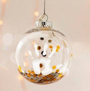 Рождественский шар Baby Art Конфети 11 см