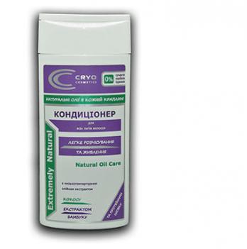 Кондиционер для длинных и посеченых волос Cryo Cosmetics, легкое расчесывание и питание