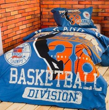Комплект постельного белья ранфорс Basketball Idea 08-13299 3 предмета