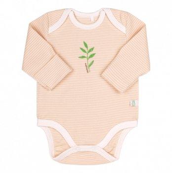 Бодик для малышей Bembi Молочный Органик коттон Унисекс БД160