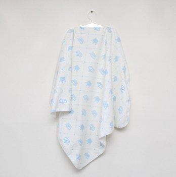 Пеленка фланелевая Minikin Корона Голубой 190901 75х90 см