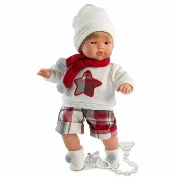 Кукла-пупс интерактивный Llorens 38547 Саша (Pablo)