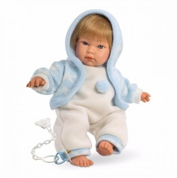 Кукла-младенец интерактивный Llorens 30002 Куки