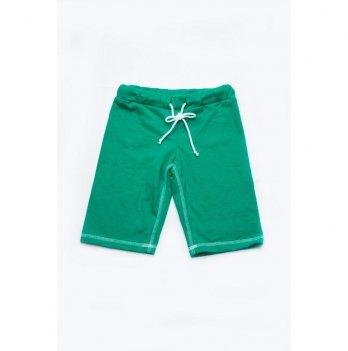 Шорты-бермуды для мальчика Модный карапуз Зеленый 03-00509