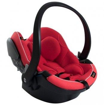 Детское автокресло BeSafe iZi Go Modular iSize, рост 40-75 см, 0-12 мес., Sunset Melange, красный