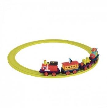 Игровой набор с железной дорогой Battat Баттатоэксперсс S2 BX1742Z