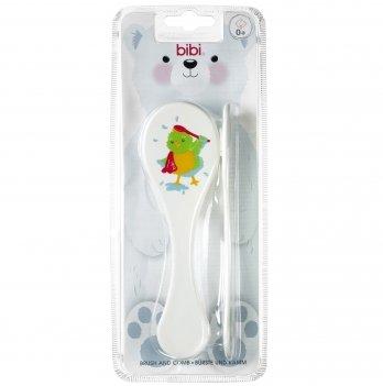 Набор щёточка и расчёска для детских волосиков bibi® 0+ мес.
