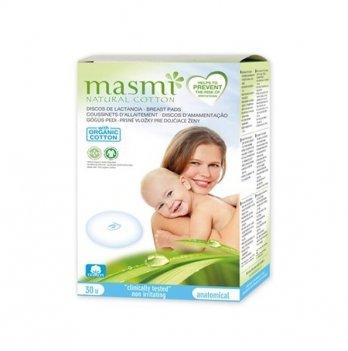 Органические прокладки гигиенические для груди Masmi 30 шт.