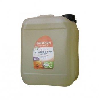 Органическое очищающее средство для ванной комнаты Sodasan, 1958, 5 л
