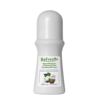 Дезодорант роликовый женский с экстрактом хлопка Organic Roll-On For Body BeFresh 50 мл