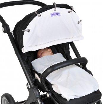 Защитная накидка на коляску и автокресло зимняя, Cream/Dooky, Winter Cream